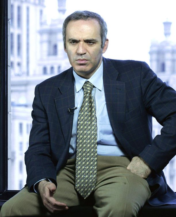 Ex-shakkimestari Garri Kasparov on nykyään oppositiojohtaja.
