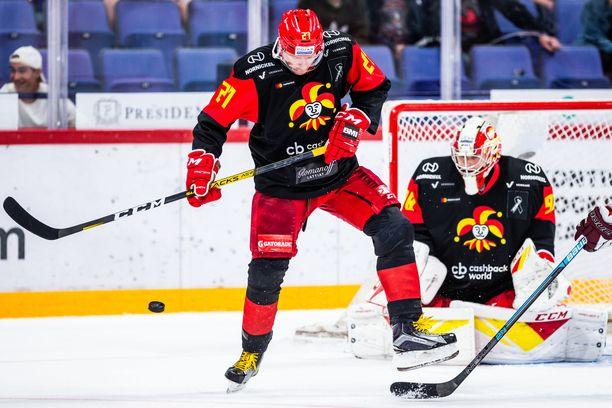 Petri Kontiola on tehoillut kauden seitsemässä ensimmäisessä pelissä pisteet 3+4.