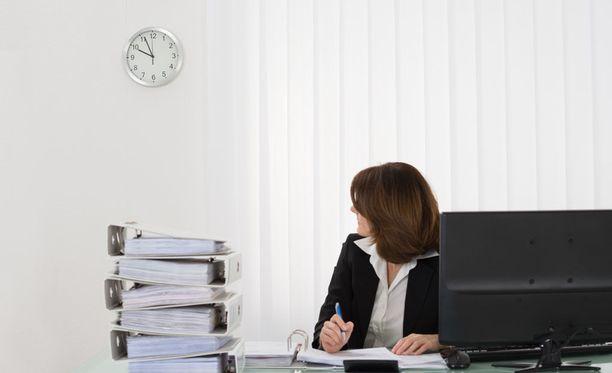 Kuuden tunnin työpäivä saattaa tehostaa työtä.