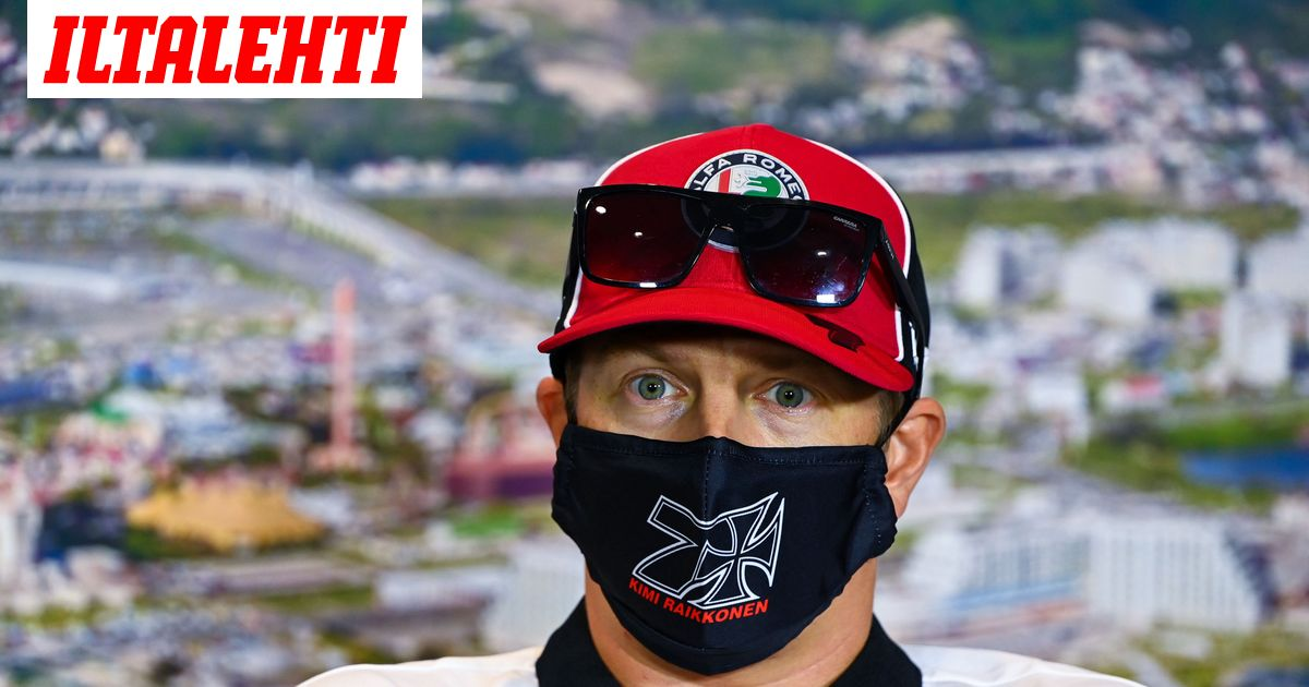 Kimi Räikkönen jakoi kuvaparin, jolla vinoili Lewis Hamiltonille...