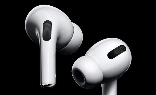 Tulevien kuulokkeiden huhutaan muistuttavan Airpods Pro -kuulokkeita.