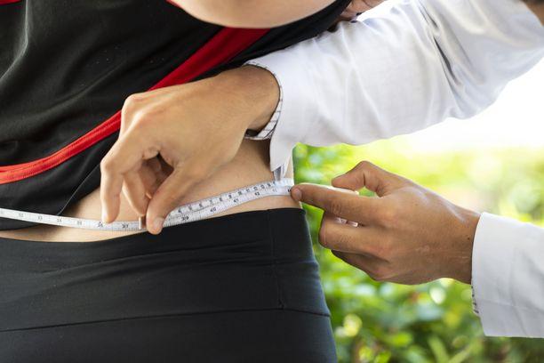 Maksan rasvoittuminen on yleisintä vyötärölihavilla.