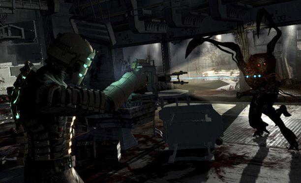 Dead Space tarjoaa jännitystä avaruusmaisemissa.