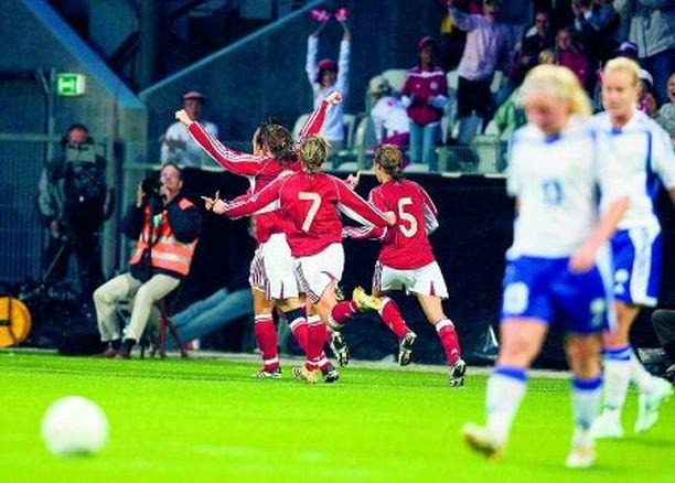 Tanskan Majken Pape teki yhden maalin ja se riitti voittoon.