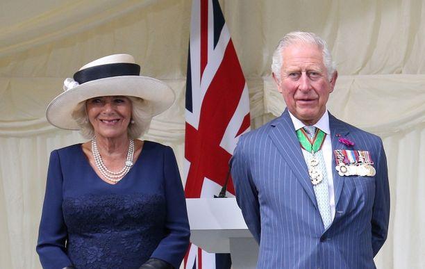 Camilla ja Charles ovat vaalineet 700 vuotta vanhaa kivilinnaa.