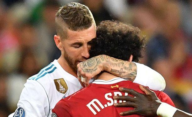 Sergio Ramos pyysi Salahilta anteeksi.