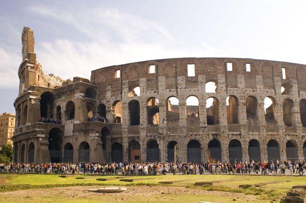 Colosseum oli ensimmäinen matkalla koettu ihme.