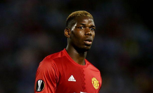 Paul Pogba siirtyi jättisummalla Manchester Unitediin