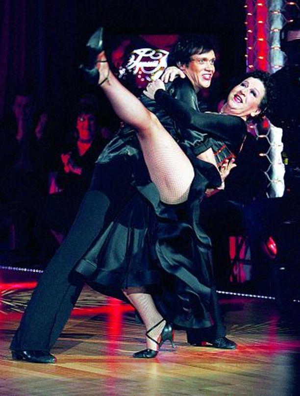 Kristiina Elstelä ja Marko Keräsen ystävyys ja yhteistyö jatkuu tanssikisan jälkeenkin.