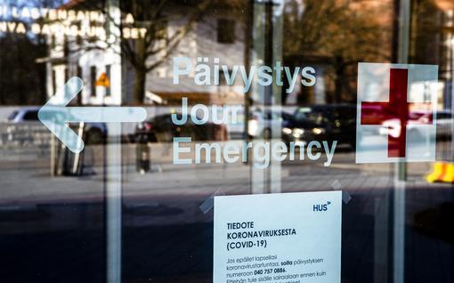 Päivystykseen tulevien potilaiden määrä laskenut rajusti Suomessa