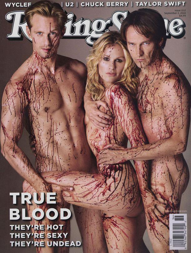 True Blood -tähdet rohkeana.