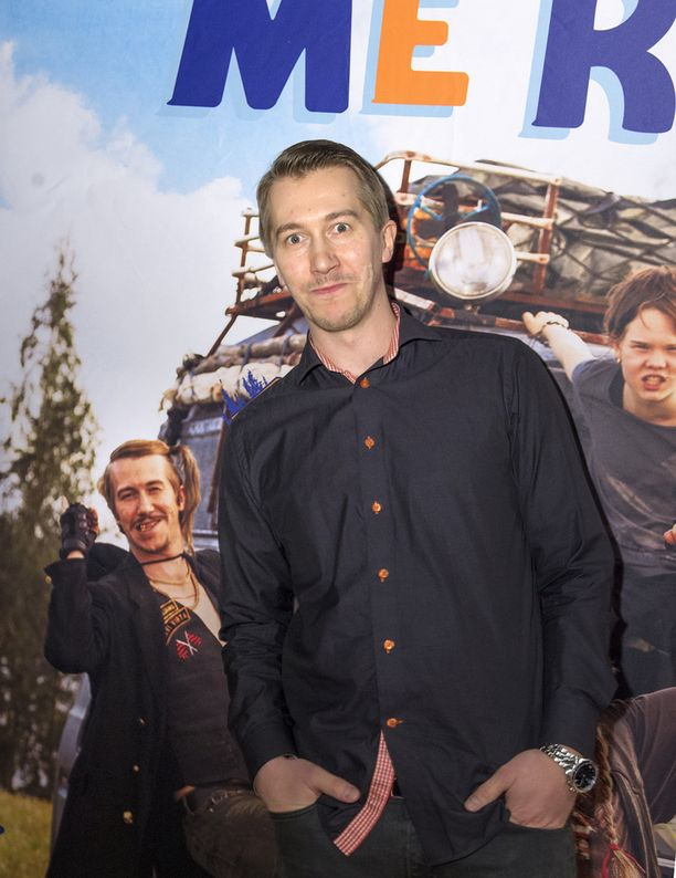 Jussi Vatanen näyttelee parhaillaan elokuvateattereissa pyörivässä Me Rosvolat -elokuvassa.