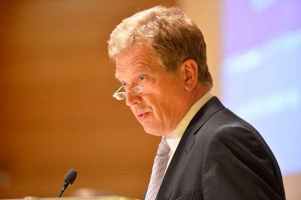 Suomen Nato-jäsenyydelle ei ole Sauli Niinistön mukaan tällä hetkellä perusteita.