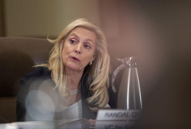Yhdysvaltojen keskuspankin johtokunnan jäsen Lael Brainard on mahdollisesti nousemassa maan uudeksi valtiovarainministeriksi.