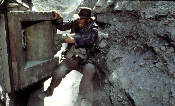Indiana Jones on ehtinyt seikkailla valkokankailla jo neljässä elokuvassa.