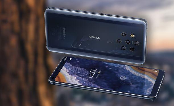 Nokia 9 Pureview -puhelimen myynti alkaa huomenna.