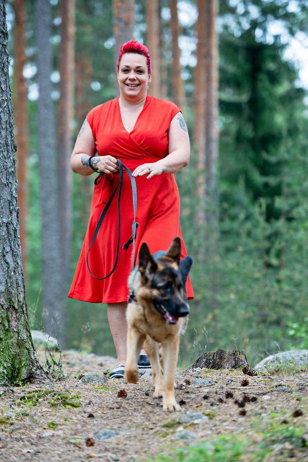 Koiran hankkimisen lisäksi Johanna aloitti eron jälkeen harrastuksia, joista oli aiemmin vain haaveillut.
