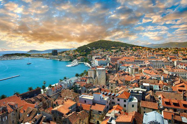 Split on oivallinen kaupunkilomakohde.