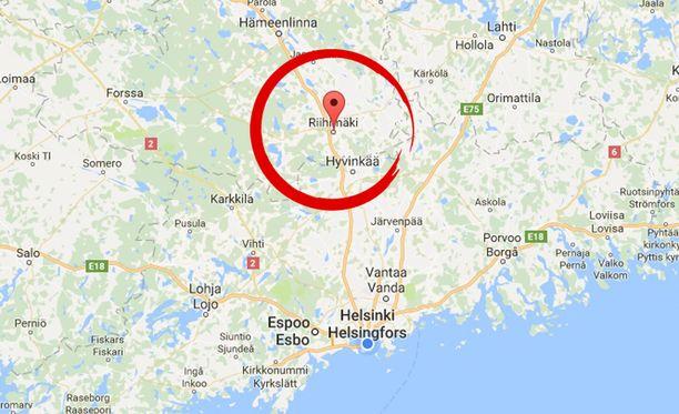 Poliisi ei kerro tässä vaiheessa tarkemmin, mihin kouluun Riihimäellä iskua oli suunniteltu.