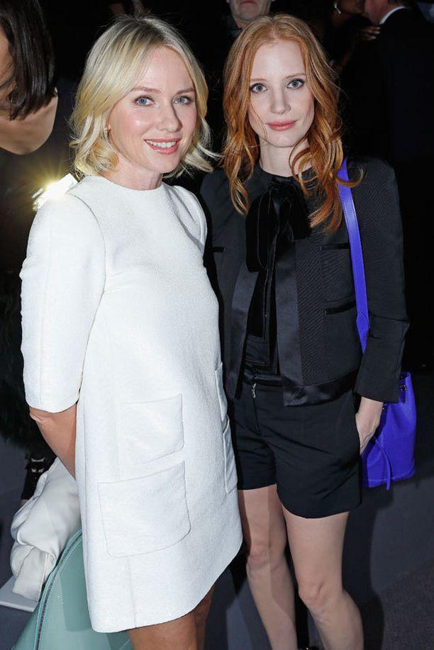 Naomi Watts ja Jessica Chastain.