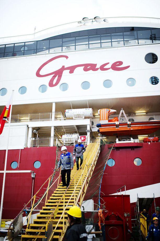 Viking Line on saanut varustamoista viime vuosina ylivoimaisesti eniten miehistökustannustukea. Viking Grace -risteilijän rakentamiseen varustamo sai valtiolta tukea 28,2 miljoonaa euroa.
