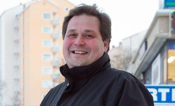 Rostedt puhui viikonloppuna Asta Rakentaja -messuilla.