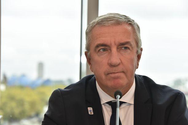 Luc Tardif seuraa René Faselia IIHF:n puheenjohtajana.
