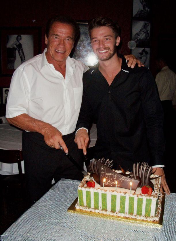 Patrick juhli hiljattain 21-vuotissyntymäpäiviään isänsä kanssa.