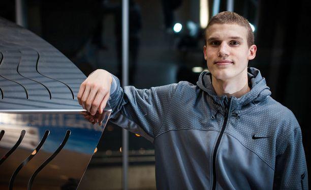 Lauri Markkanen on Suomen koripallon superlahjakkuus.
