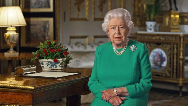 Kuningatar Elisabetin puhe kosketti.