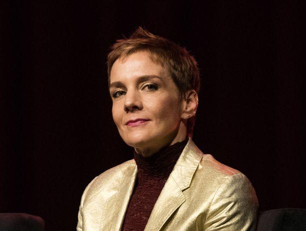 Maria Veitola osallistui Nasty Women -keskusteluun.
