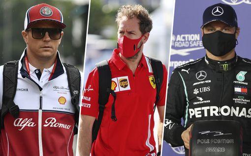 Lehti: Kimi Räikkösen ja Valtteri Bottaksen palkat laskussa – Sebastian Vettelin liksassa hurja romahdus