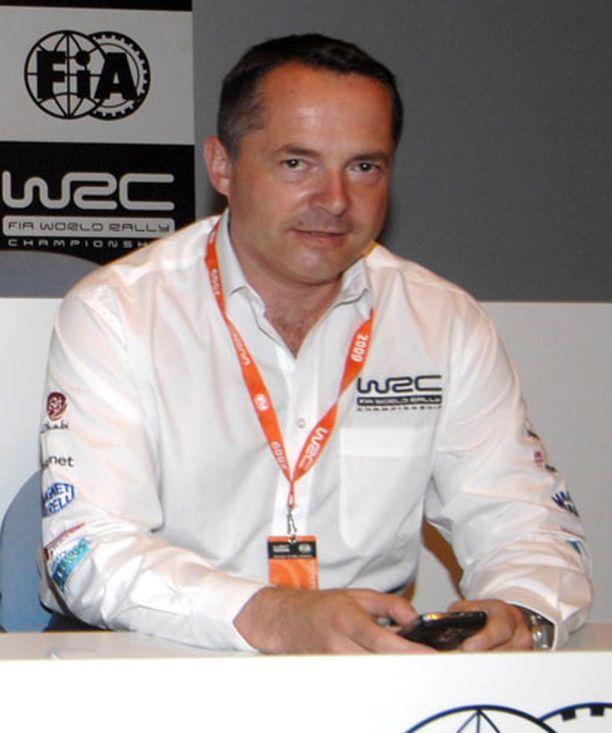 Simon Long on MM-sarjaa isännöivän rallipromoottori ISC:n toimitusjohtaja.