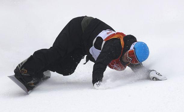Roope Tonterin temput eivät aivan riittäneet finaalipaikkaan slopestylessä.