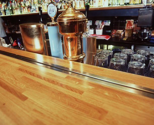 TimeOut Sports Bar ravintolassa 31.1.–6.2. olleita pyydetään tarkkailemaan vointiaan. Kuvituskuva.