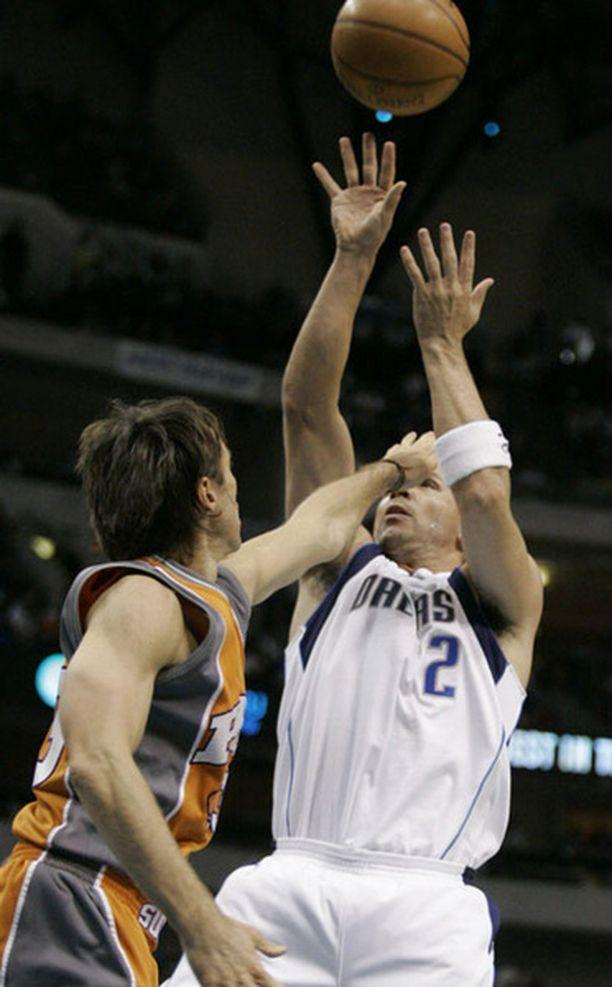 Jason Kidd (oik.) oli Dallasille kaikki kaikessa.