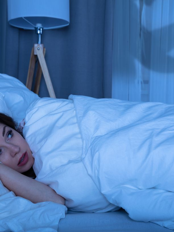Mikä kumma minut taas herätti? Painajainen?