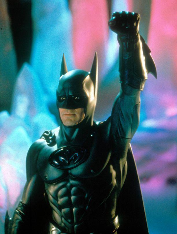 George Clooney nähtiin Batmanina elokuvissa Batman & Robin vuonna 1997.