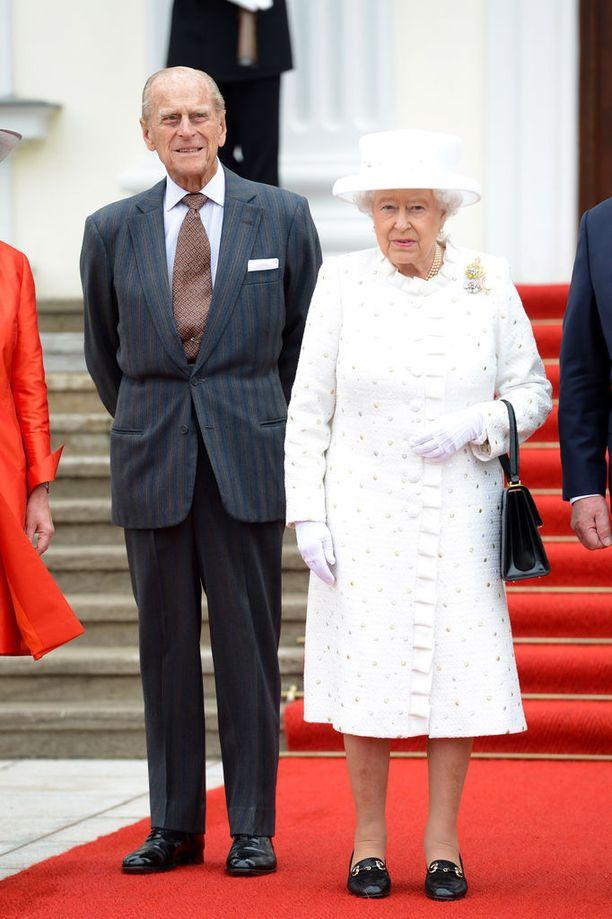 Prinssi Philip ja kuningatar vuonna 2015.