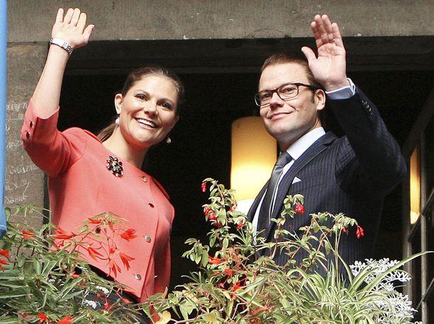 Victoria ja Daniel saapuvat Suomeen marraskuussa.