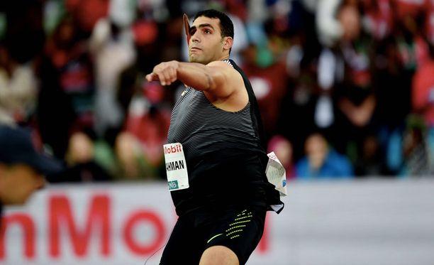 Ihab Abdelrahman on antanut positiivisen dopingnäytteen.