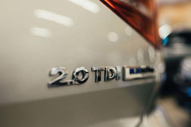Joka neljäs uutena myyty auto on yhä diesel.