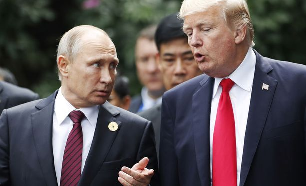 Trump ja Putin tapaavat toisensa Helsingissä 16. heinäkuuta.