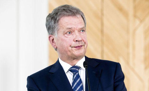 Presidentti Niinistö on kuvaillut räjähdettä varsin leikkisästi.