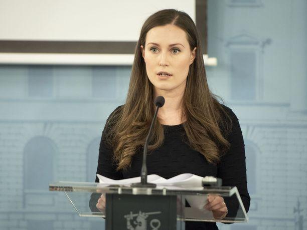 Suomalaiset luottavat koronakriisissä pääministeri Sanna Mariniin.