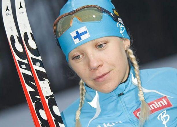 Kaisa Mäkäräinen oli 14:s kolmesta sakkokierroksesta huolimatta.