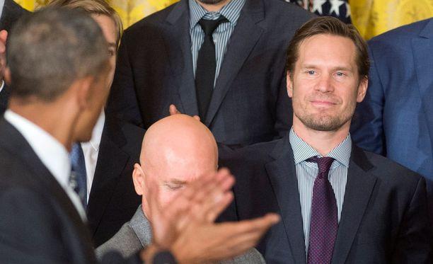 Kimmo Timonen sai kehut Barack Obamalta.