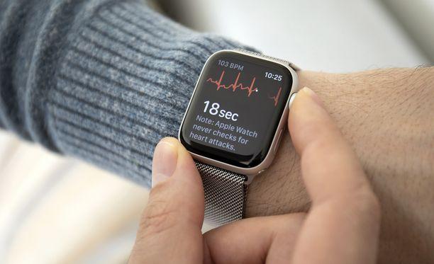 Apple Watchin tallentamat tiedot voivat auttaa koronatartuntojen tunnistamisessa.