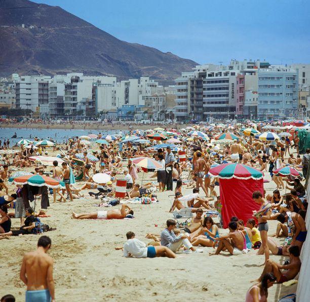 1960-luvun rantaelämää Gran Canarialla.
