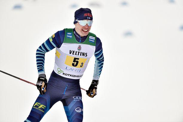Iivo Niskanen ei hiihtänyt perjantaina edes pisteille.